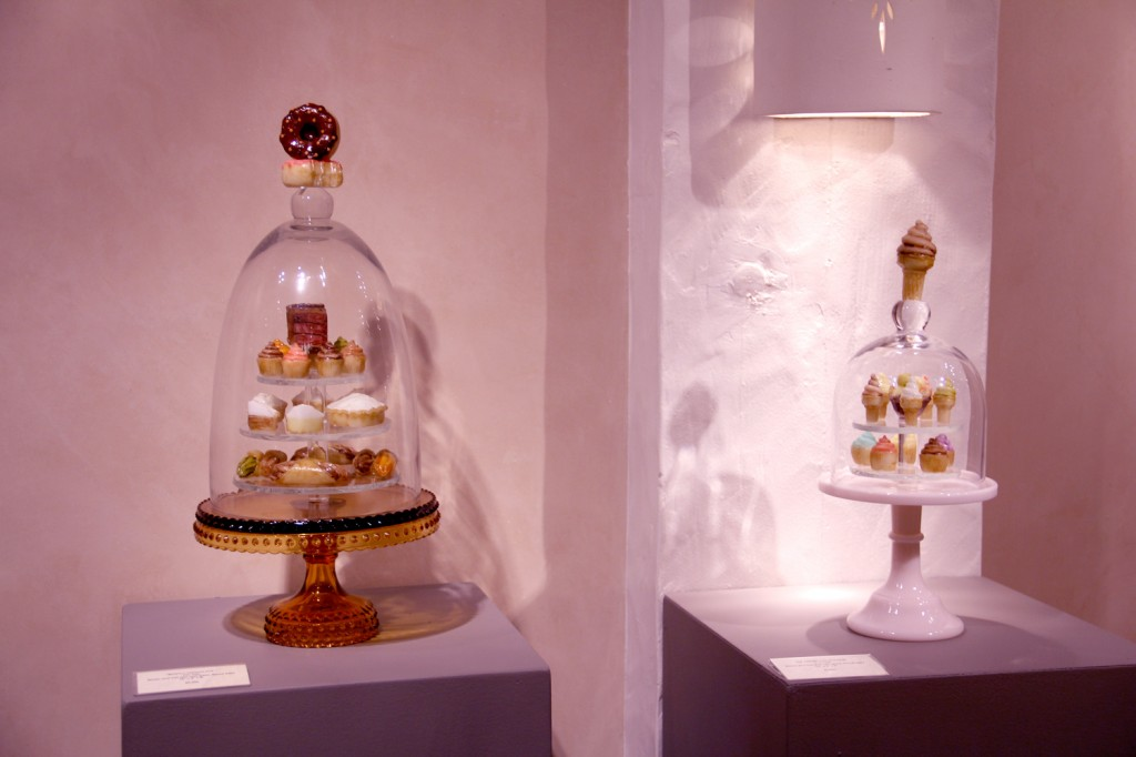 Yummy yet inedible treats from sculpture Tim Tate