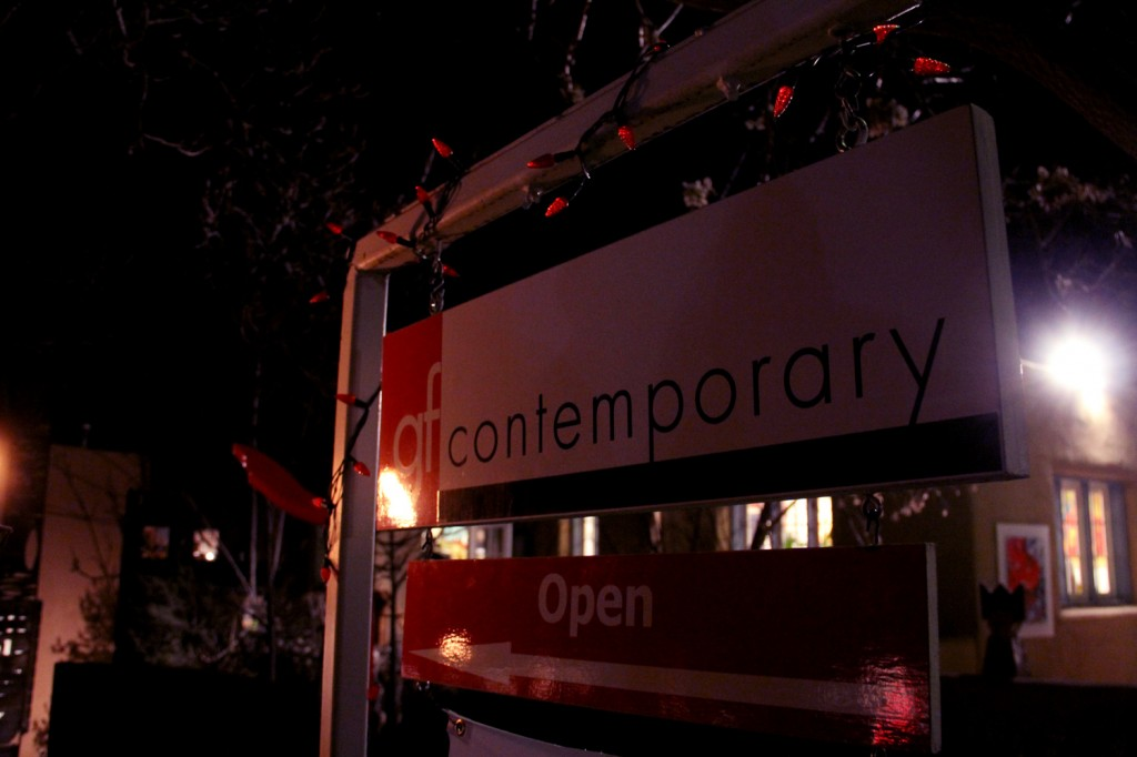 gf contemporary art gallery - home to the Peter Pan theme!