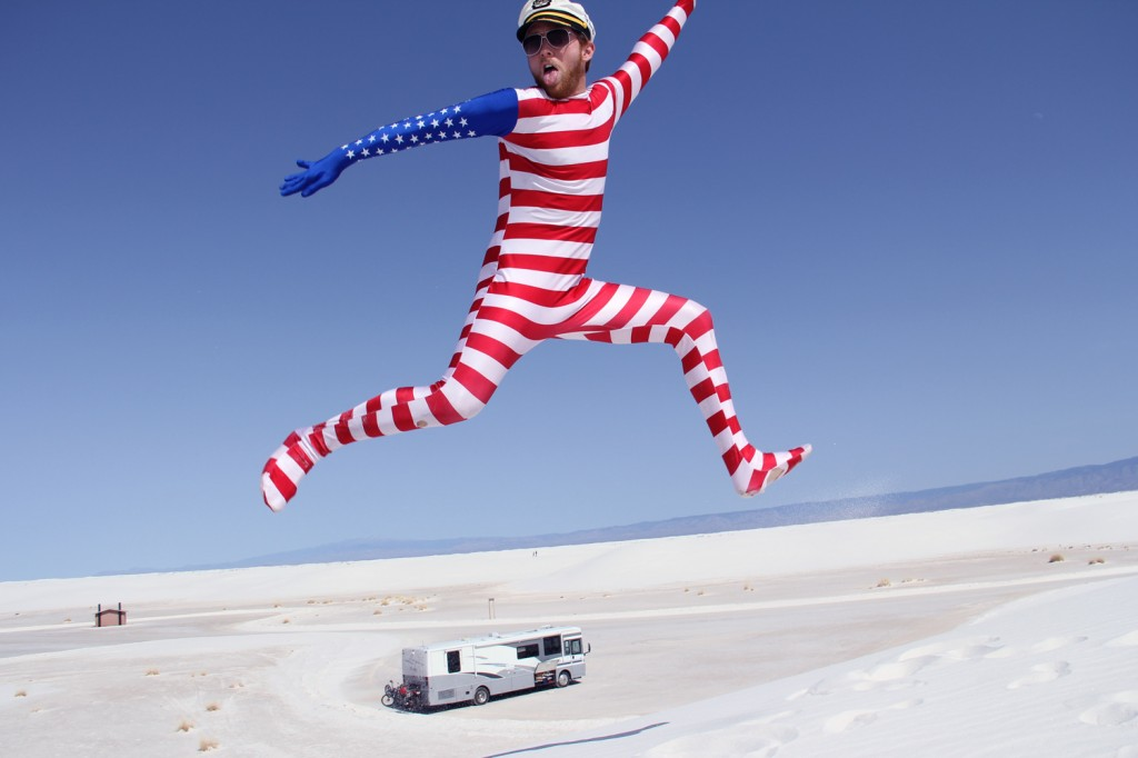 Jumping over the RV