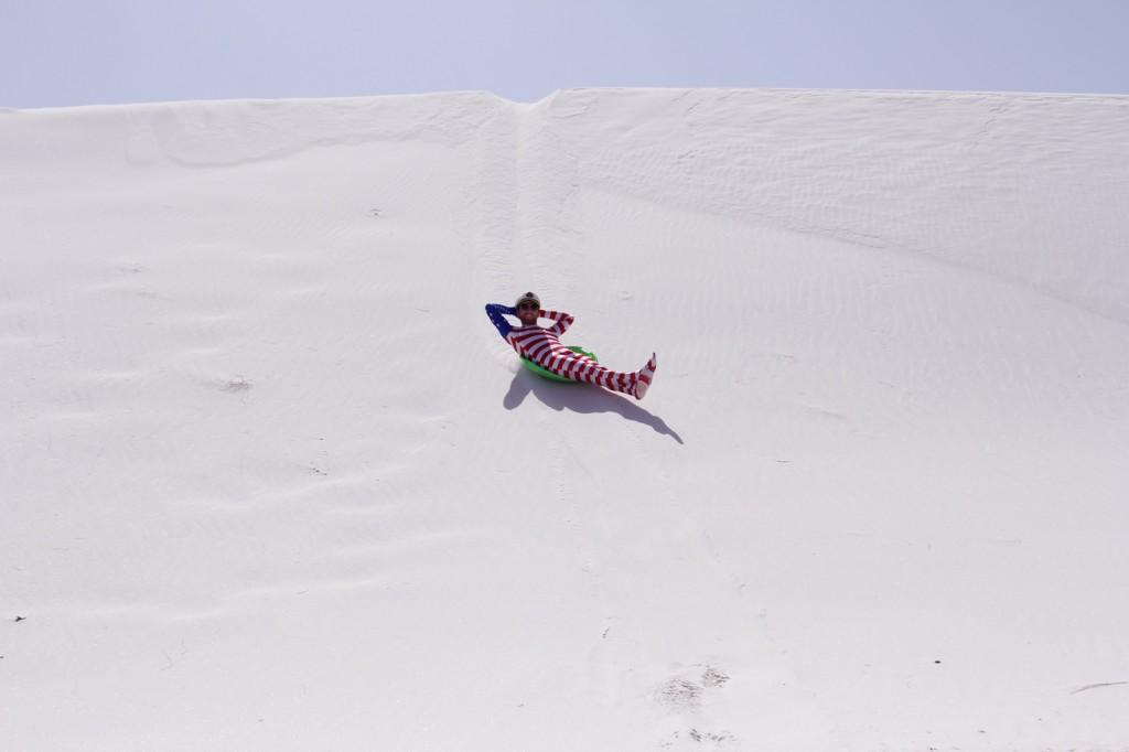 Leisure sledding