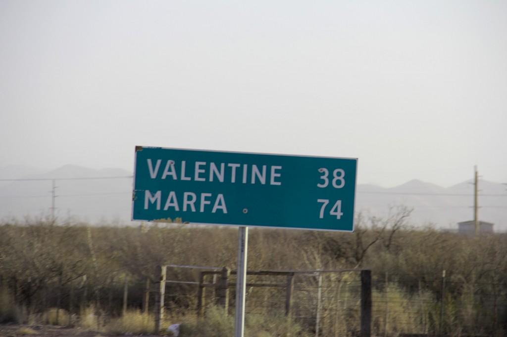 On the road to Prada Marfa