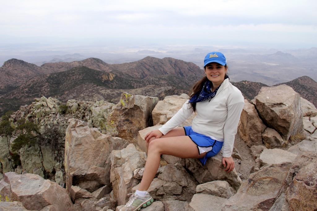Atop Emory Peak