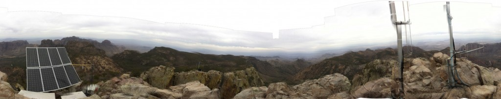 Panoramic from the top