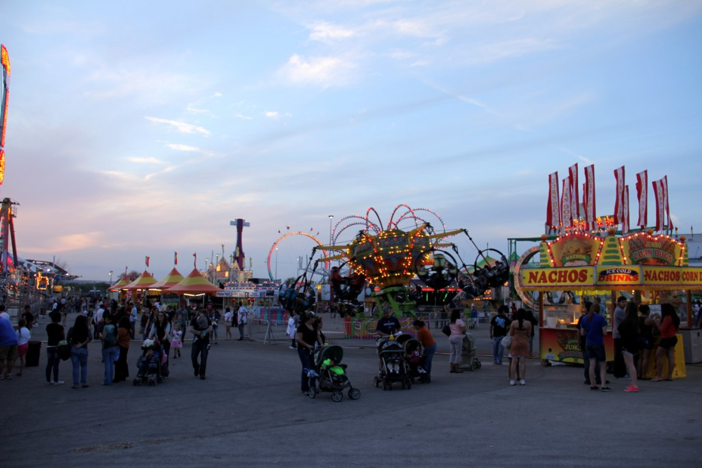 Carnival fairgrounds